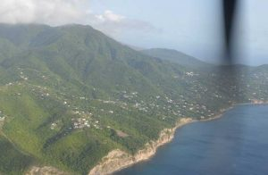 Montserrat from the air