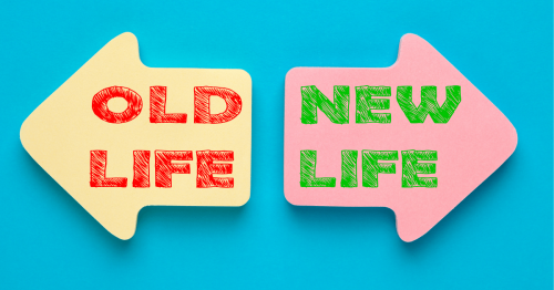 coaching - old life new life