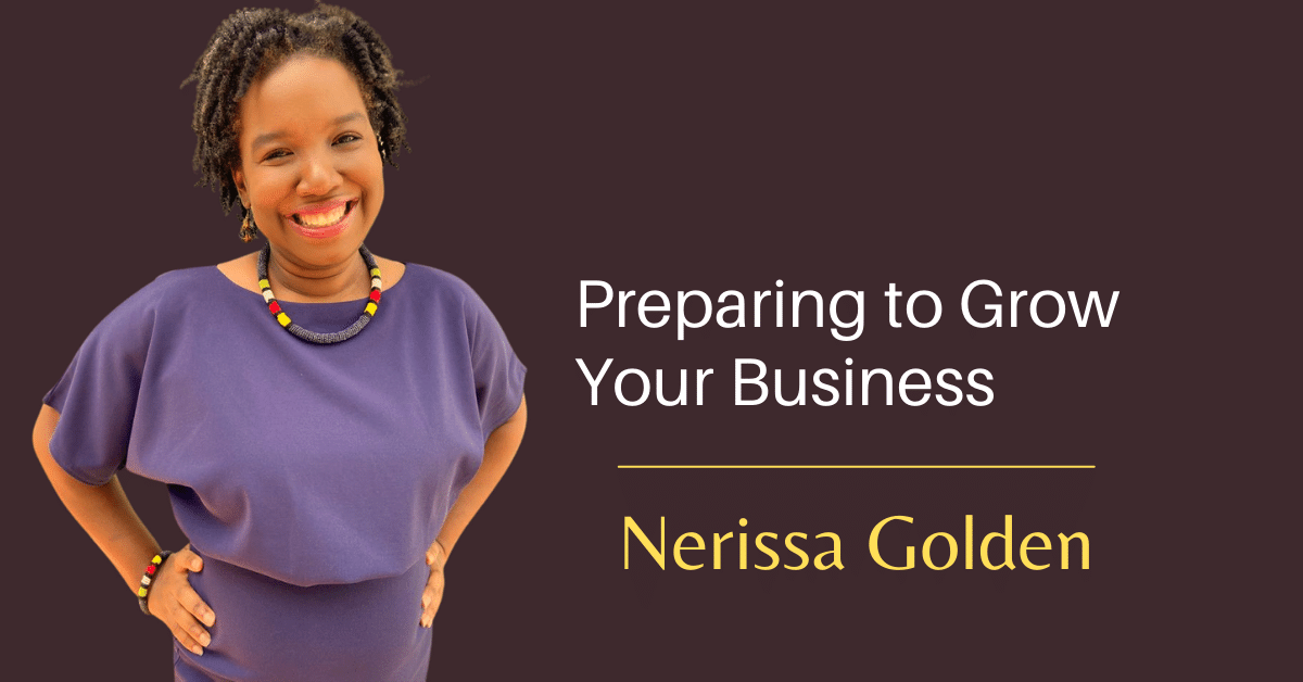 Prepare to grow your business
